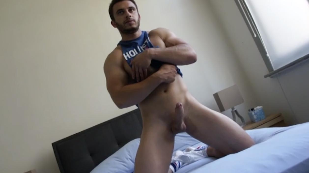 muscle bareback cul masturbateur
